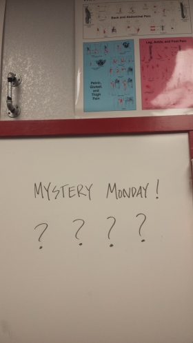 Myster Monday WOD